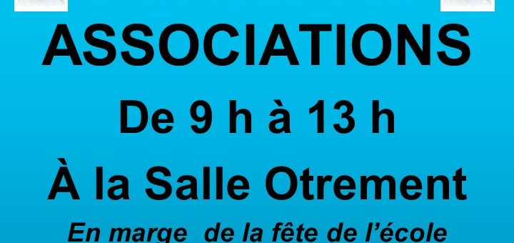 Forum des associations Chens-sur-Léman